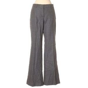 Theory Striped Grey Wool Pants